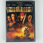 Pirates of the Caribbean: The Curse of the Black Pearl (DVD, 2004, 2 Disc)