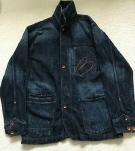 Paul Smith RED EAR Coverall Denim  Jacket   Size L