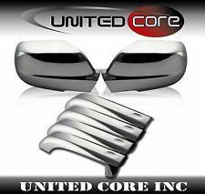 Jeep Grand Cherokee 05-10 Chrome Mirror Cover Chrome 4 Door Handle Cover
