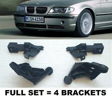 BMW 3-Series E46 2001-05 Facelift Front Bumper Brackets FULL SET Left + Right