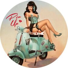 Pin Up Girl Caliente Clásico Vintage Rat Rod pegatinas coche calcomanías Sexy Aspecto Retro 7