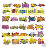HO Scale Graffiti 2-Pack #1 - Weather Your Box Cars, Hoppers, & Gondolas!