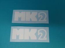 Hercules MK 2 Seitendeckel Sticker Schriftzug Dekor Aufkleber