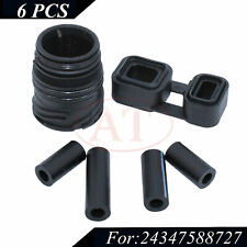 6Pcs 6HP26 6HP28 Valve Body To Case Sleeve Connector Seal Kit Fit For BMW US
