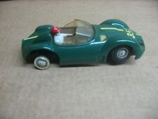 MARX 1/32 SCALE GREEN FERRARI TYPE CAR #2 (HAS STEERING)