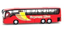 Teamsterz 1:50 Scale Red Express Line City Coach Bus Die Cast Vehicle Kids Toy