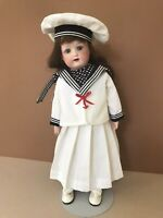 Antique German Bisque Doll (Heubach Koppelsdorf 275; 13 inches tall)