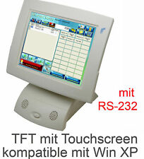 "12 "" Pos Monitor Preh 30,48cm TFT Elo Touch Screen for Continuous Operation"