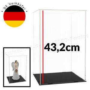 43cm Vitrine Acryl Schaukasten Display Vitrinen Groß Box Plexiglas Kasten Case A