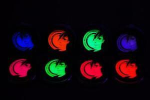 PaintGlow UV Blacklight Reactive Pressed Powder Eye Shadow - FAST USA Shipping