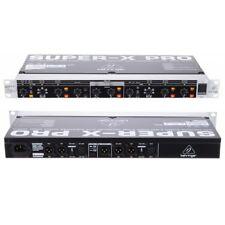 BEHRINGER SUPER-X PRO CX2310 processore rack crossower 2 vie stereo 3 vie mono