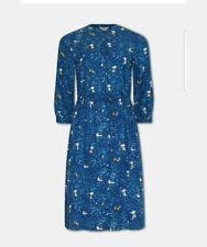 Neues AngebotCath Kidston Snoopy Peanuts blau Shirt Kleid Größe 10 NWOT