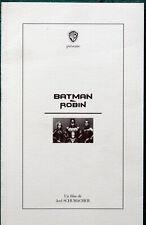 DP  Batman & Robin (1997) Arnold Schwarzenegger George Clooney Chris O'Donnell