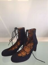 Chie Mihara Janet Lace Up Pump in Peacock Size 39