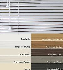 Faux Wood Made To Measure Venetian Blinds 50mm/35mm 11 Colours