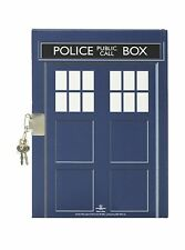 Doctor Who TARDIS Lock Journal Blue Police Box Notes - NWT