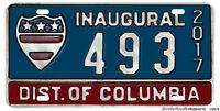 2017 Presidential Inauguration Washington DC Reproduction Aluminum License Plate