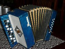 Garmoschka Knopfakkordeon Ziehharmonika Akkordeon.