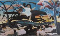 Henri Rousseau: El Guerra - Litografía Firmada Y Numerada, 300ex #1976