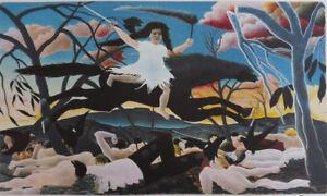 Henri ROUSSEAU : La Guerre - LITHOGRAPHIE Signée et Numérotée, 300ex #1976