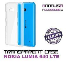 COVER TRASPARENTE NOKIA LUMIA 640 LTE CUSTODIA PROTEZIONE TPU TRANSPARENT CASE