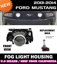 10-14 FORD MUSTANG V6 GT BOSS 302 Replacement Fog Light Lamp (CLEAR) - (ONE)