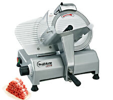 "8"" Blade Commercial Electric Meat Slicer Machine Food Vegetables Slicer 220V"