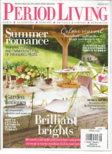 PERIOD LIVING AUGUST 2017 , BRITAIN'S BEST SELLING PERIOD HOMES MAGAZINE.