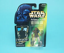 STAR WARS POTF2 WEEQUAY SKIFF GUARD MOSC US CARD 1996 KENNER