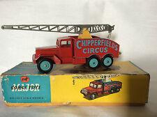 Corgi Toys no. 1121 Chipperfields Circus Crane Truck ovp !!!