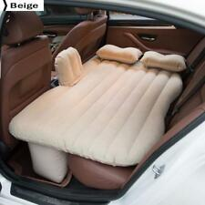 Car Back Seat Cover Car Inflatable Air Mattress Travel Bed Beige
