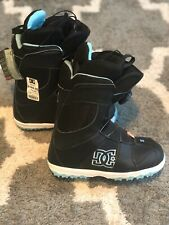 DC Shoes Teal/Black Womens Snowboard Boots - NWT Size 7