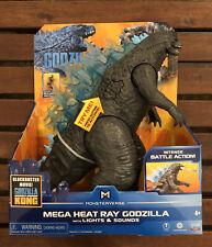 Monsterverse Godzilla vs Kong Mega Heat Ray Godzilla With Lights And Sounds