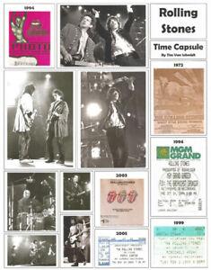 "It's About Rock And Roll: ""Rolling Stones"" Broadside by Tim Van Schmidt"