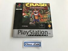 Notice - Crash Bandicoot - Platinum - Sony PlayStation PS1 - PAL EUR
