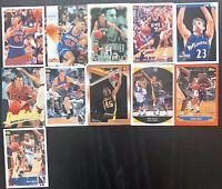 Lot of 11 1993-1999 NBA Legend Fleer/Skybox/Topps/Upper Deck Cards