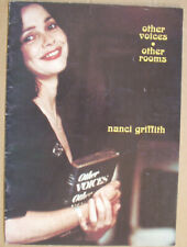 Nanci Griffith Other Voices . Other Rooms tour programme early 1990's
