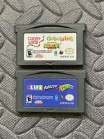 Lot Nintendo Game Boy Advance GBA Games Candy Land,Chutes, Memory LIfe Yahtzee+