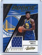 2017-18 ABSOLUTE #RM-JBL JORDAN BELL JERSEY ROOKIE CARD RC #149/199, WARRIORS