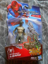 "LIZARD INVISI-SKIN ( 4"") VHTF AMAZING SPIDER-MAN MOVIE ACTION FIGURE WITH CANNON"