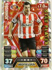 Match Attax 2013/14 Premier League - #280 Adam Johnson - Star Player