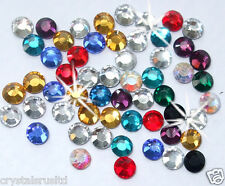 2,5 mm multi couleur strass thermocollants strass pierre