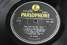 "The Beatles ""HELP"" 1965 UK 1st Press STEREO PCS 3071 British Invasion LP. EX-!"