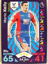 Match Attax 2016/17 Premier League - #077 Martin Kelly - Crystal Palace