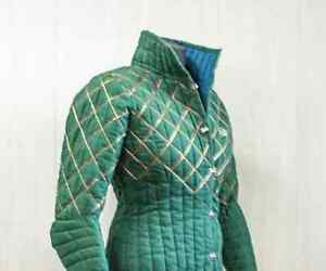 Medieval Armour Doublet Woman Padded Gambeson LARP Halloween & New Year Gift