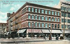 Snyder & Co Department Store & New Jersey Business College, Newark NJ 1913