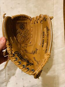 "Rawlings RBG 129 Ken Griffey Jr Basket Web 10.5"" Leather Baseball Glove RHT"