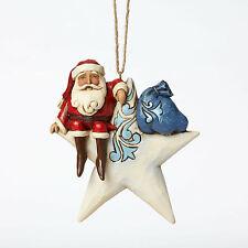 Enesco Jim Shore Heartwood Creek Santa on Star H/O Nib Item# 4047799