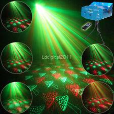 RG Remote 24 Patterns Laser Projector Bar Dance Disco Party Xmas DJ Light Tripod