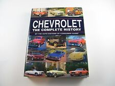 1996 - CHEVROLET THE COMPLETE HISTORY BY AUTO EDITORS OF CONSUMER GUIDE ~ BOOK